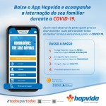 Aplicativo do Hapvida permite acompanhar internação de pacientes com Covid-19