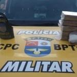 BPTran apreende mais de 5kg de crack avaliados em R$ 100 mil