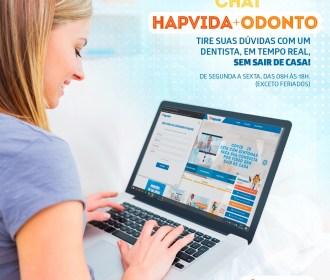Hapvida amplia serviços de chat de odontologia para dúvidas sobre Covid-19