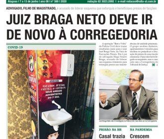 JUIZ BRAGA NETO DEVE IR DE NOVO À CORREGEDORIA