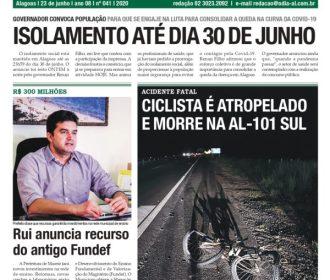 ISOLAMENTO ATÉ DIA 30 DE JUNHO