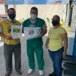 Mãos Que Ajudam doa máscaras, luvas cirúrgicas e cestas básicas