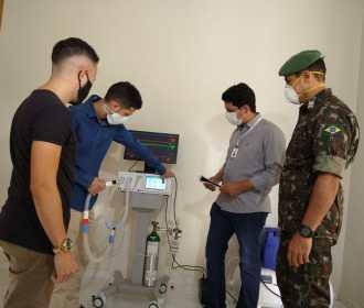 Equipe coordenada por Sargento do Exército, conclui protótipo de respirador de baixo custo e oferece projeto para produção em larga escala