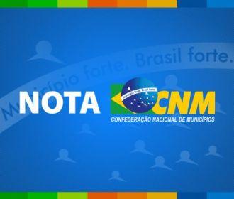 CNM divulga estimativa de repasse para ações emergenciais na cultura