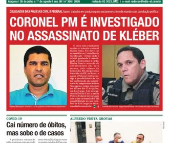 CORONEL PM É INVESTIGADO NO ASSASSINATO DE KLÉBER