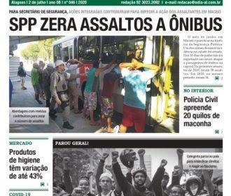 SPP zera assaltos a ônibus