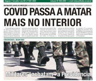 COVID PASSA A MATAR MAIS NO INTERIOR