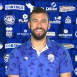 """De volta aos treinos, zagueiro Luciano Castán fala sobre o """"novo normal"""" no CSA"""