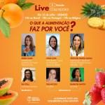 Nutricionista da Semed participa de live internacional amanhã