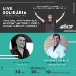 Live com DJ Paulo Pringles irá arrecadar cestas básicas para comunidade em Maceió