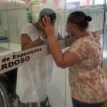 """""""Olhar que Salva"""" conforta pacientes e familiares no Hospital de Campanha"""