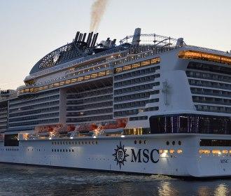 MSC anuncia nova temporada de navios com mais de quinze escalas em Maceió