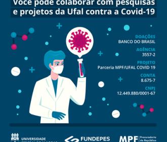 MPF promove campanha para arrecadar recursos a serem utilizados em ações de combate à covid-19