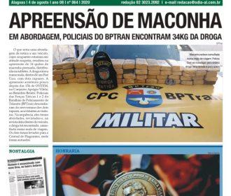 APREENSÃO DE MACONHA
