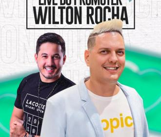 Promoter Wilton Rocha anuncia nova live com bate-papo e música