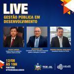 """TV Cidadã transmitirá live com o tema """"Gestão Pública em desenvolvimento"""""""