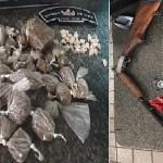 Arma de fogo e munições são apreendidas em União