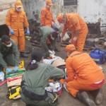 Vítima de esmagamento é resgatada em São Miguel dos Campos
