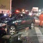 Colisão entre caminhão e carro deixa uma vítima presa às ferragens em Rio Largo