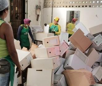 Em dois anos mais de 55 toneladas de lixo é encaminhada para reciclagem pelo Judiciário de Alagoas