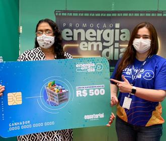 Alagoanos recebem prêmios do sexto sorteio da campanha Energia em Dia