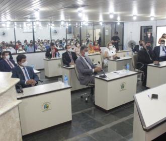 Palmeira dos Índios: Câmara inicia os trabalhas e convoca secretários