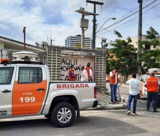 Vistoria aponta novas medidas para bairros afetados por movimento do solo