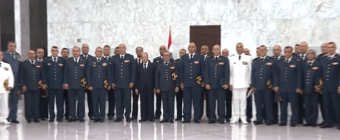 General aoun and officers 2018
