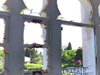 Sursock museum windows