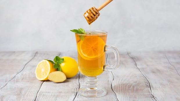 nước chanh mật ong