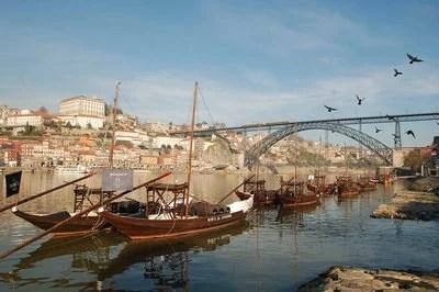 Centro Histórico do Porto,   Ponte Luiz I e Mosteiro da Serra do Pilar