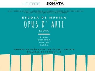 Nova escola de música em Évora