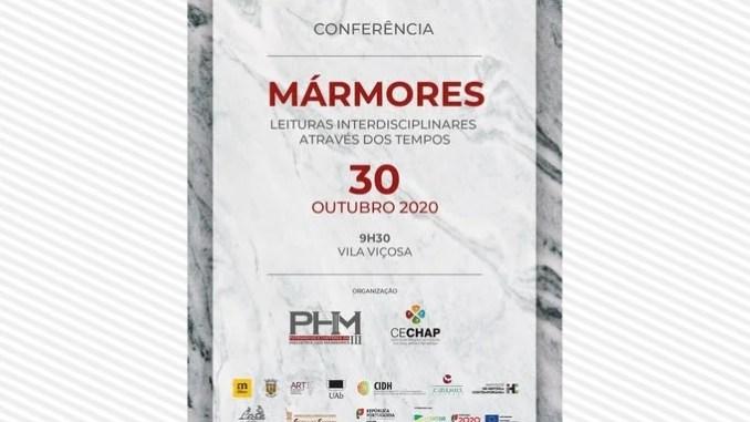 Conferencia sobre os mármores