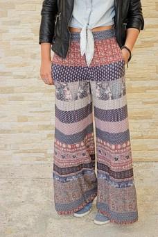 hippie skirt pants