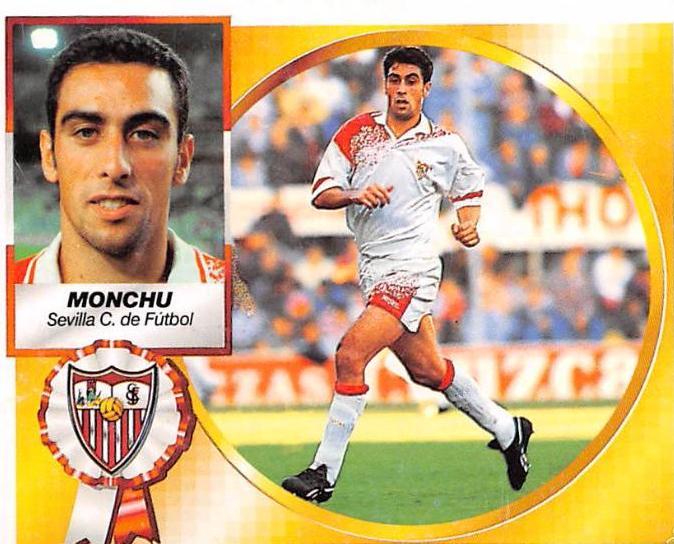 """Recordamos a """"Monchu"""", un tipo que sabe lo que es marcarle dos goles al Bayern con la camiseta del Sevilla."""