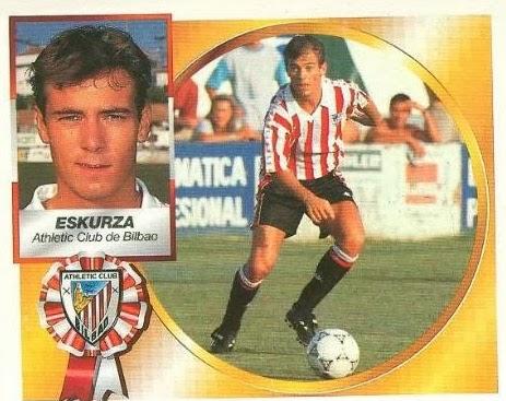 Xabier Eskurza, recordamos a este futbolista que militó en Athletic y Barça durante los 90.