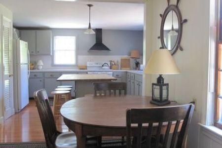 Peaceful Family Getaway  Spacious        HomeAway Hyannis Opposite family room is seating area and kitchen