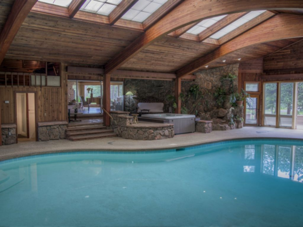 Beloved Panoramic Home Registraton Number 3019 Indoor PoolHot Tub Views Stanley Hills