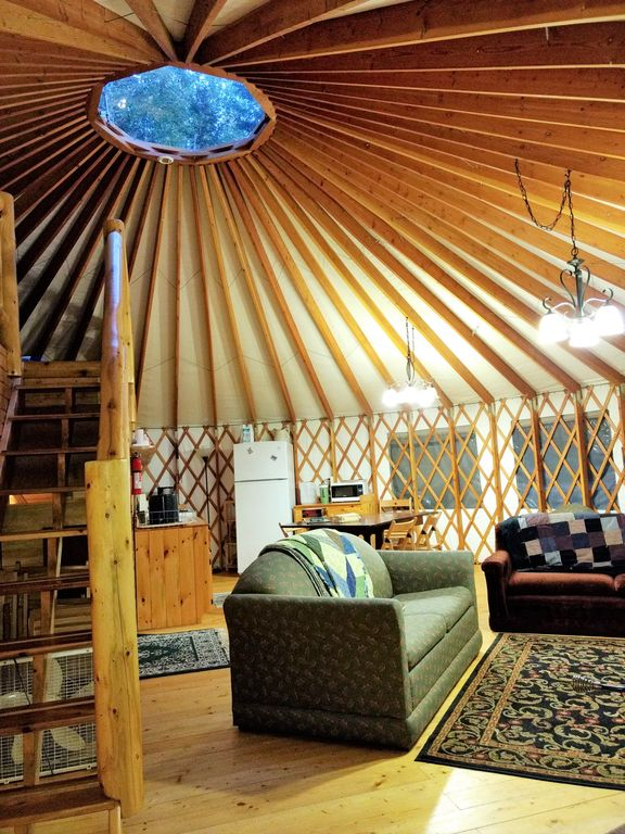 Eagle Yurt At Wilderness Wind Ely MN With 3 Bedrooms And