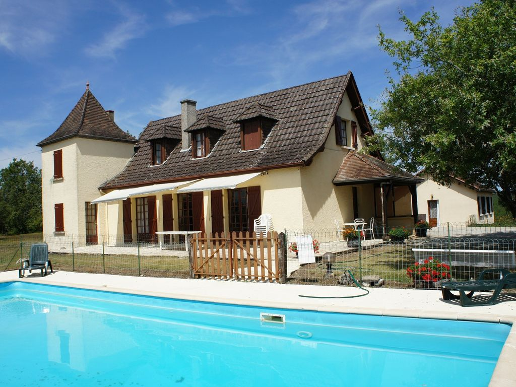 Kids Friendly House Near Sarlat With Big Pool Wifi And
