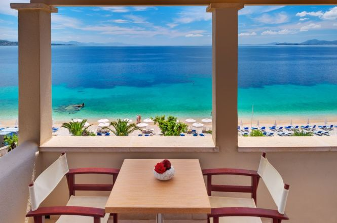 Krouzeri Beach Sea View Apartments By The In Nissaki At