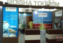 Odisha Tourism stall at FHRAI Lucknow