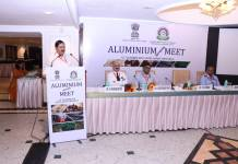 NALCO CMD, Dr. TK Chand speaking at National Aluminium Meet 2018