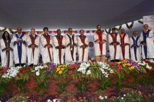 Odisha Governor Prof. Ganeshi Lal at KIIT 14th Convocation
