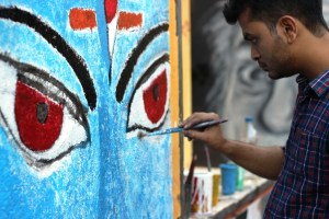 Painting Competition at XIMB