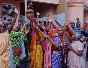 Habishyalis returned home Holy Kartik Month