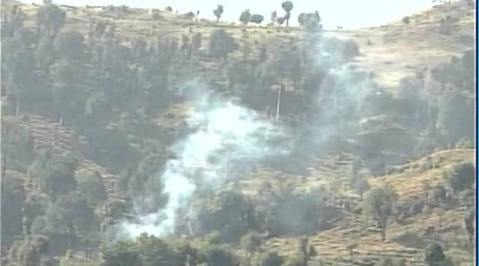 firing at poonch sector