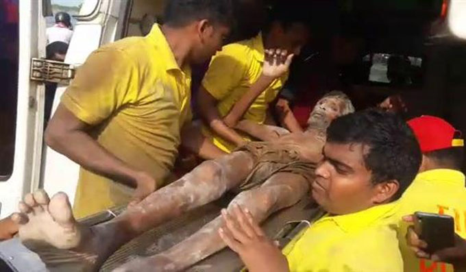 rescue by fire service