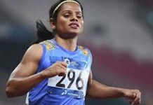 chand got silver medal second time