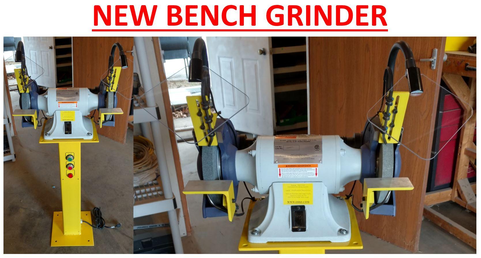 "8/"" palmgren//dayton Bench Grinder Replacement Parts"